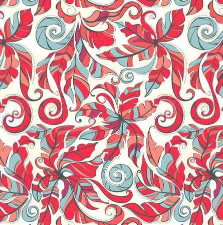 beautifull floral seamless pattern. Vector illustration. Vector