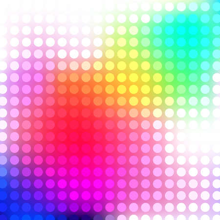 Abstract bright background with dots