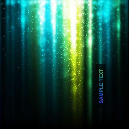 abstract glowing background. Vector