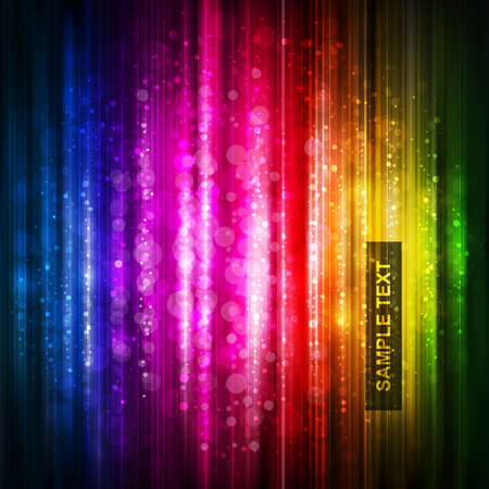 disco background: abstract glowing background.  Illustration