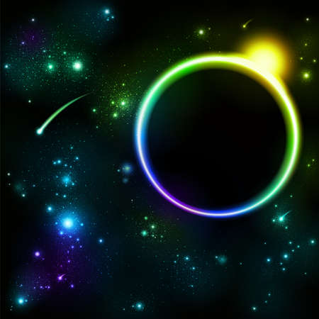 space and star background Vector