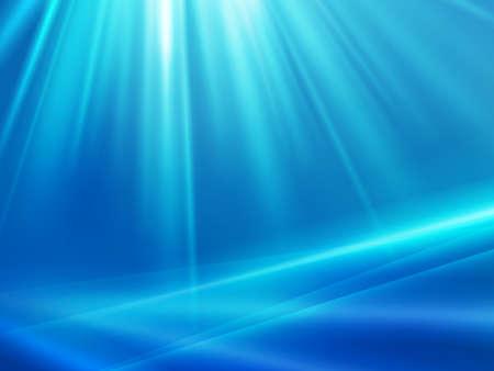 Abastract blauwe achtergrond met stralen