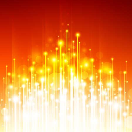 fluorescence: Abstract Optical Fibers Illustration