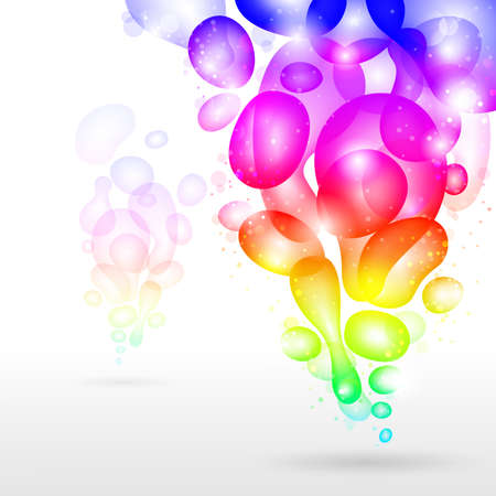 grope: Abstract background, vector rainbow illustration.