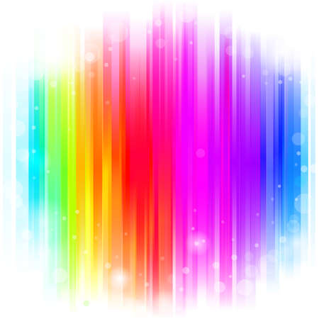 stipes: abstract glowing background with rainbow stipes. Vector illustration