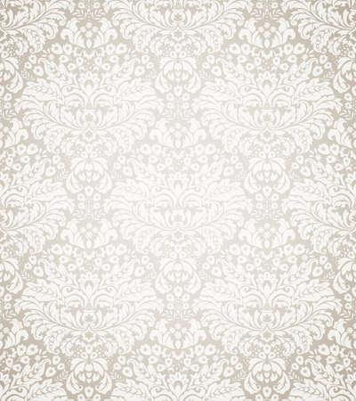 damast: Damaris seamless floral Pattern. Illustration