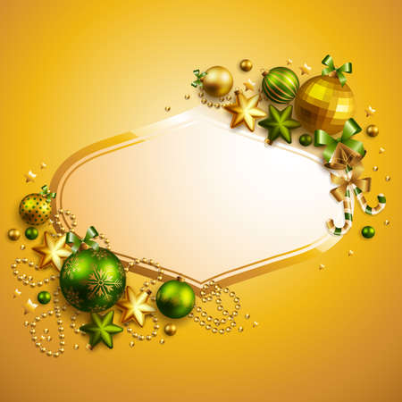 holy place: Beautiful christmas background with place for text. Vector illustration. Illustration