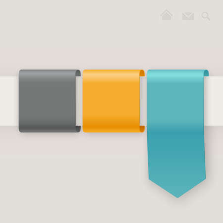 button: Web template illustration.