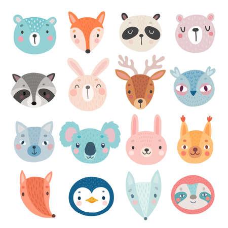 Cute Woodland animal characters