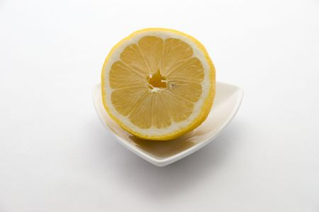Half of Lemon 版權商用圖片
