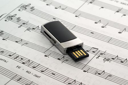 The music sheet tutorial solfeggio is a flash drive
