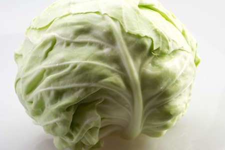 ripe: Fresh ripe cabbage closeup