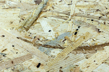 Background of wood chipboard closeup