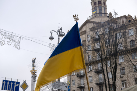 Opposition rally in Kiev, December 17, 2013 during the political crisis in Ukraine