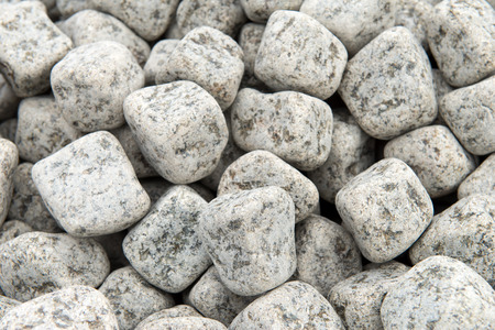 civilized: Facing the building material of the close up, the stone  Stock Photo