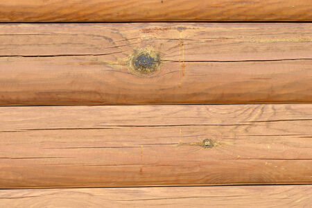 treated: Background of light wooden structure treated closeup Stock Photo