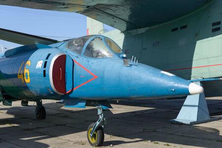 Sovjet-vliegtuigen in de terminal gebied parkeerplaats