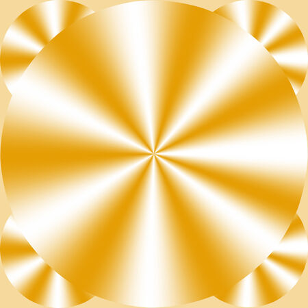 screen savers: Abstract yellow and white gradient background of geometric shapes