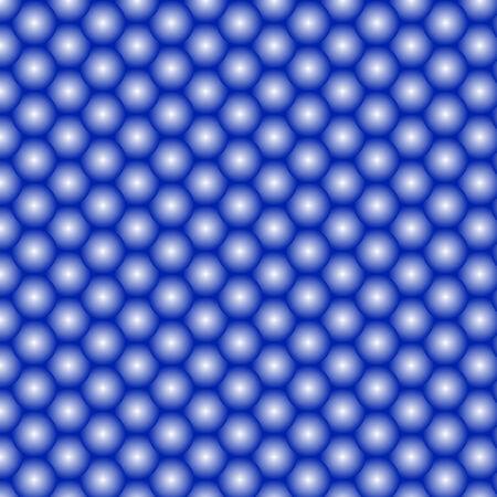 공의 추상 파란색 배경을 그렸습니다.