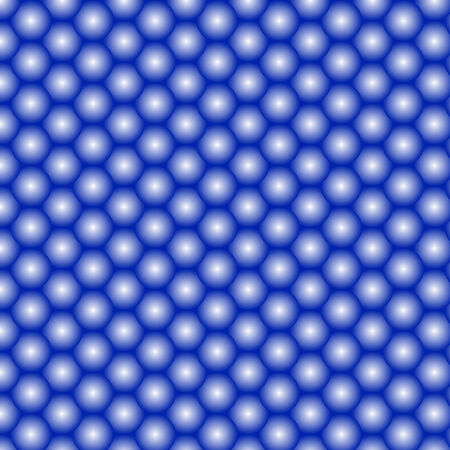 Abstract painted blue background of balls Иллюстрация