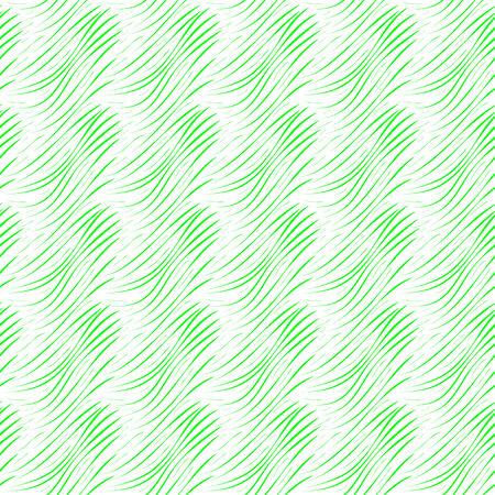 緑の背景、抽象的な背景の様式化された草