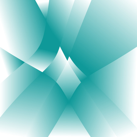 Abstract blue background of geometric shapes
