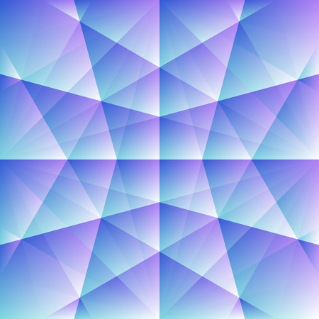 Abstract blue background with a pink shade of geometric shapes