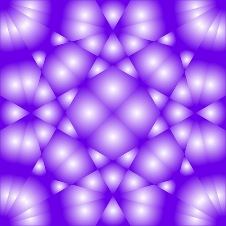 Abstract lilac background with a white shade of geometric shapes Ilustração