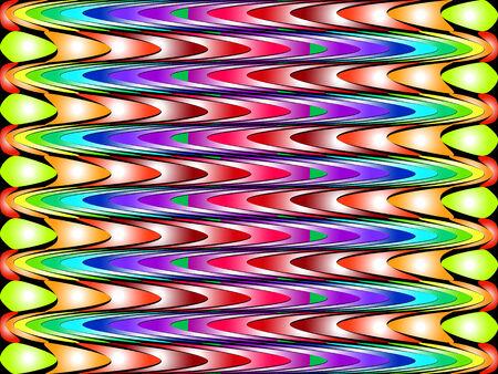 幾何学的形状の抽象的な色スペクトル背景歪んだフォーム
