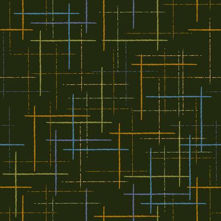 고르지 바를 기반으로 추상 다채로운 원활한 벡터 패턴