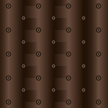 Seamless vector abstract drawing in brown Illusztráció