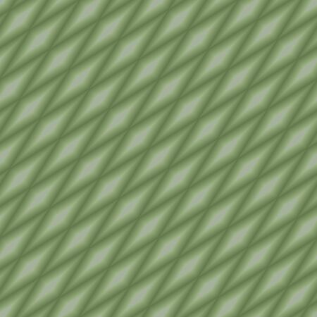 Seamless vector background with green gradient slanted diamonds