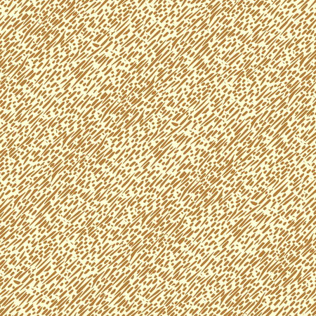 Seamless vector background with brown oblique lines long irregularly shapes