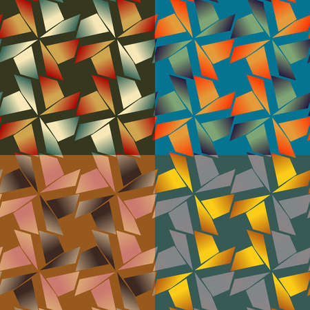 sooth: Set of abstract seamless colorful backgrounds