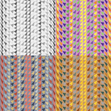 Set color of seamless geometric patterns with malformed triangles