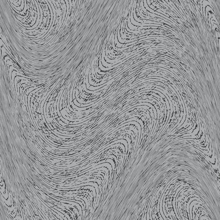 harmonic: Seamless abstract wavy steel texture background Illustration