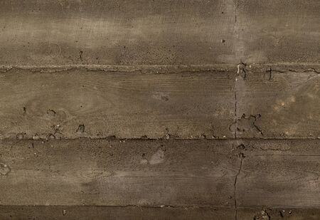 Background of gray concrete wall stripes