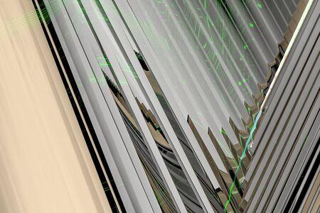 Luz abstractos gráficos por ordenador arte en vidrio marrón imitando Foto de archivo - 61719983