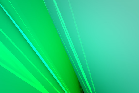 Abstract green glass background 3d rendering of computer visualization Stock Photo