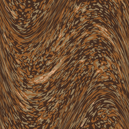 Brown geometric abstract seamless patterns in four colors Illustration