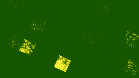 Abstract green background with geometric pattern imitation 3d rendering