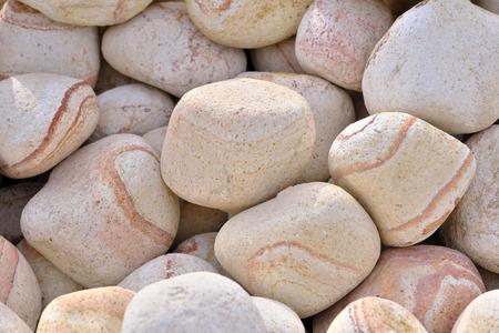 Decorative marble pebbles rainbow angelic stone close-up macro photo stone designer background