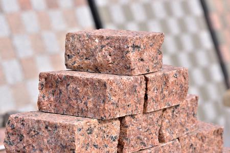 Decorative granite slab close-up macro photo stone designer background