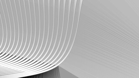 3d rendering art minimalistic painting in white and gray gradient colors futuristic designer background