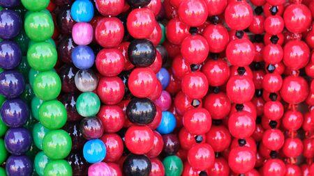 Cheap jewelry women jewelry beads close-up macro photography