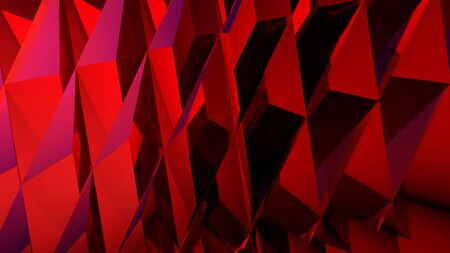Abstract background, computer rendering print cover in red colors