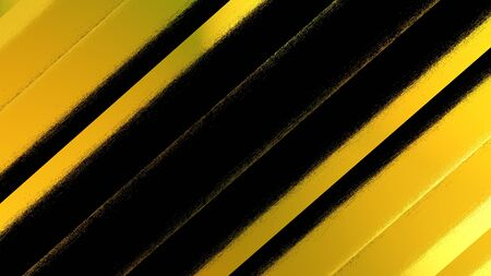 Abstract background, computer rendering of the cover of the printed edition in yellow tones with stripes