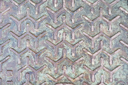 Metallic background with pattern texture. Aged Metallic  background texture Stock Photo