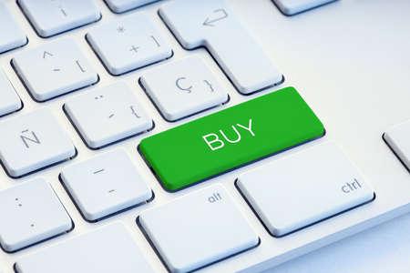 Buy Word on green computer Keyboard Key