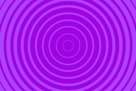 Purple Radiating concentric Circle Pattern Background. Vibrant Radial geometric Vector Illustration 向量圖像